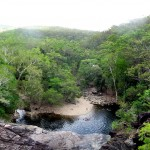 Cedar Creek Falls Airlie Beach Panorama